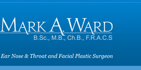 mark a ward ear nose throat facial plastic surgeon